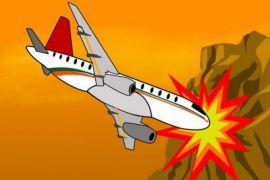 Pesawat jatuh di Iran, 66 orang tewas