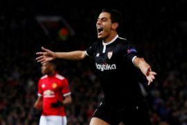 Manchester United kalah 1-2 dari Sevilla