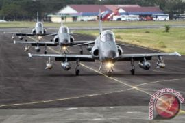 Skadron Udara 12 latihan tempur di Aceh