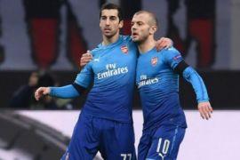 Arsenal tekuk AC Milan dengan skor 2-0