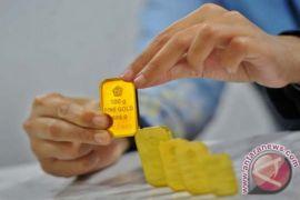 Emas naik ditopang pelemahan dolar AS