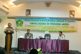 Kapolda Jambi ajak tokoh agama cegah konflik