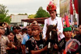 KPK titipkan dua kuda Jokowi di Istana Bogor