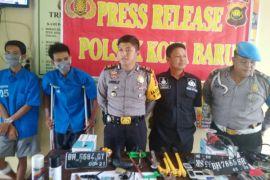 Polisi tangkap pelaku sindikat curanmor gunakan senpi