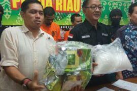 Sabu-sabu senilai Rp6 miliar disita Polda Riau