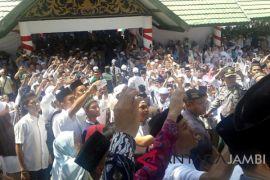 Ribuan muslim Muarojambi hadiri tabligh akbar Ustadz Abdul Somad