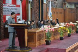 DPRD gelar paripurna pengambilan keputusan LKPj gubernur 2017