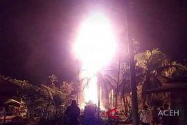 Pengeboran minyak ilegal terbakar 5 tewas di Aceh