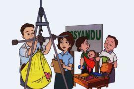 Unik, lomba desain timbangan balita di Bandung