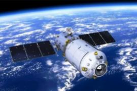 Stasiun luar angkasa Tiangong-1 jatuh di Pasifik