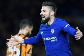 Gol ganda Giroud bangkitkan Chelsea di Southampton