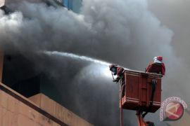 Kebakaran Hotel di Jambi
