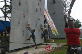FPTI Jambi seleksi atlet menuju kejurwil Sumatra.
