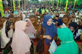 Bupati Masnah: tamat pesantren pendidikan terus dilanjutkan (video)