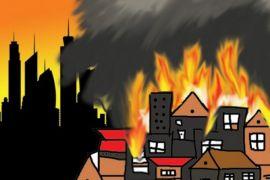 Kebakaran di Kosambi Bandung tewaskan seorang balita