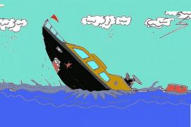 KM Cikal tenggelam di perairan Banggai, tiga orang tewas