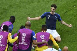 Gol Pavard terpilih menjadi gol terbaik Piala Dunia 2018