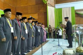 MTQ Jambi - Sekda Provinsi Jambi lantik dewan Hakim.