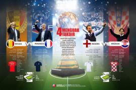 Empat tim menjemput sejarah