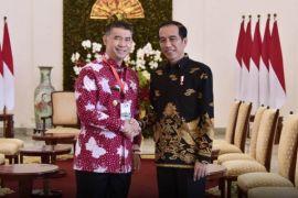 Fasha jadi perwakilan Wali Kota di Istana Bogor