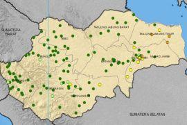 Monitoring hari tanpa hujan di Jambi