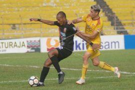 Sriwijaya tundukkan Borneo 1-0 di Padang