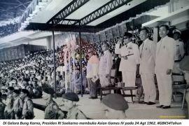 Mengenang Acara Pembukaan Asian Games 1962