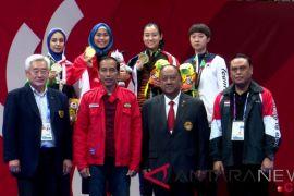 Presiden Jokowi hadiri partai final Taijiquan