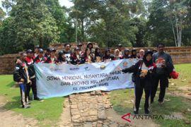 BUMN Hadir - SMN Malut kunjungi percandian Muaro Jambi