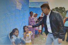 Fasha antarkan langsung bantuan untuk korban gempa Lombok