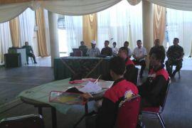 BUMN Hadir - Pelajar Malut menyatu dengan suasana Korem 042/Gapu