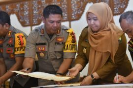 Bupati Muarojambi teken perjanjian kerjasama APIP-APH