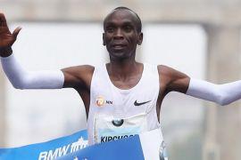 Pelari Kenya pecahkan rekor marathon dunia di Berlin