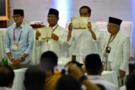 Jokowi: nomor urut satu sesuai yang diharapkan