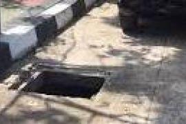 Penutup drainase jalan di Jambi masih bermasalah