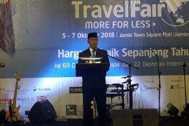 Wali Kota Jambi buka garuda Indonesia 'travel fair' (video)