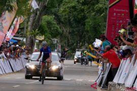 Pebalap Australia rajai etape III Tour de Singkarak 2018
