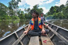 Wisata susur sungai Taman Nasional Berbak Sembilang