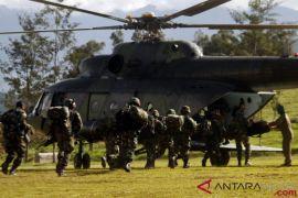 Panglima TNI melepas jenazah Sertu Handoko