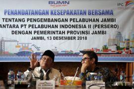 Kerja sama pengembangan pelabuhan Jambi