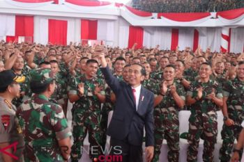 DI Jambi, Presiden Jokowi umumkan kenaikan tunjangan Babinsa