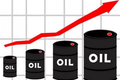 Harga minyak mentah Brent melonjak tertinggi