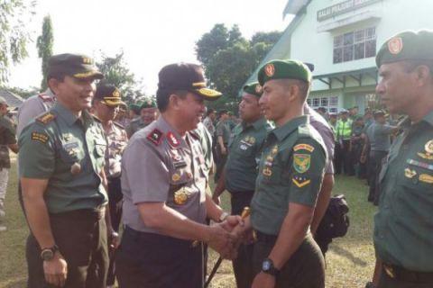 Sinergi TNI-Polri