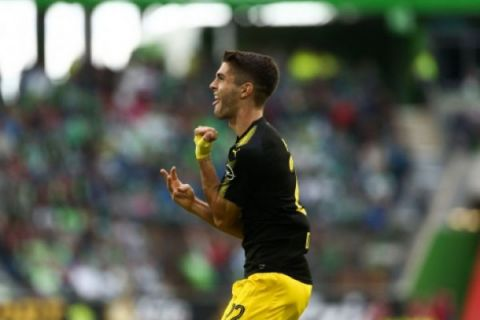 Pulisic sumbang dua gol saat Dortmund kalahkan Liverpool