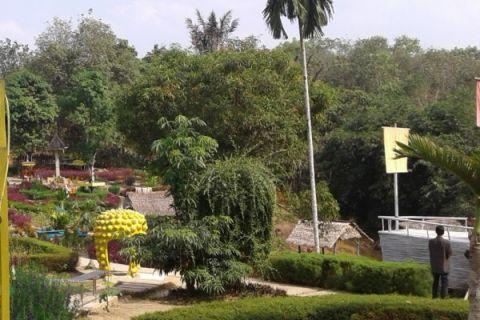 Taman Talang Bukit Berbunga wisata alternatif di Batanghari
