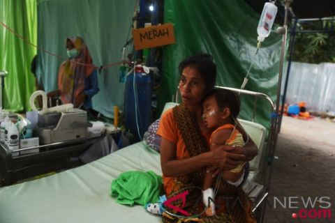 Korban meninggal gempa Lombok capai 515 jiwa