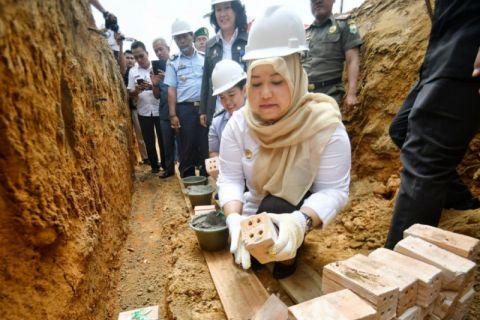 Bupati Muarojambi letakan batu pertama pembangunan lapas  khusus perempuan