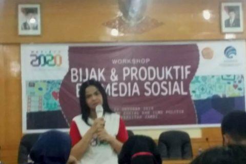 Kemkominfo ajak mahasiswa bijak menggunakan media sosial