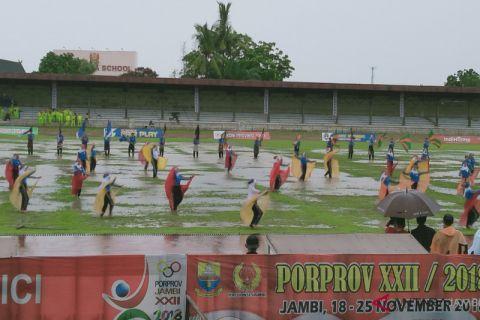 Kota Jambi masih kokoh puncaki klasemen Poprov 2018