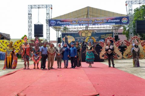 Gebyar SMA 1 Batanghari lestarikan budaya Jambi